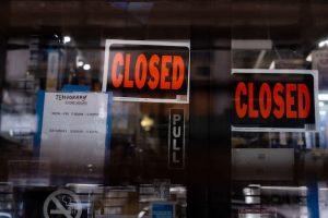 tienda cerradas comercio