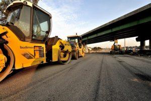 construcción carreteras