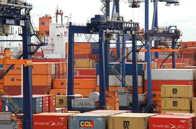 Comercio Contenedores Puerto