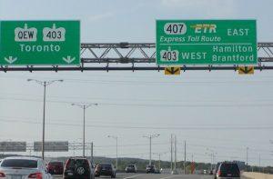 Ferrovial Autopista 407