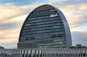 """Edificio BBVA en Madrid """"La vela"""""""
