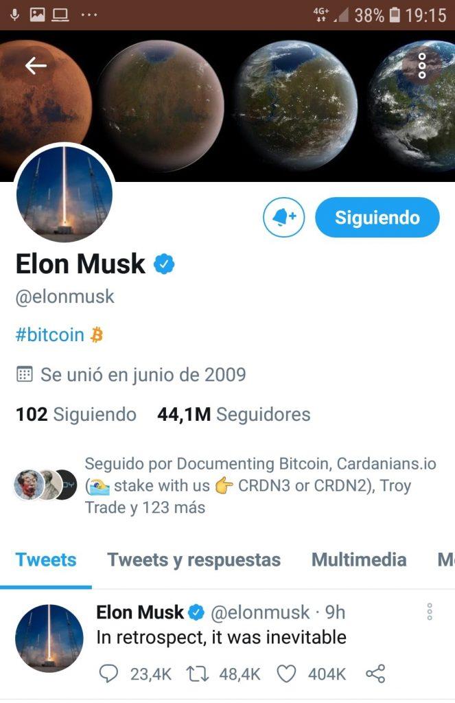 Twitter Elon Musk bitcoin