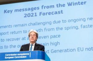 Comisión Europea Previsión