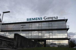 Siemens Gamesa cartel edificio Madrid