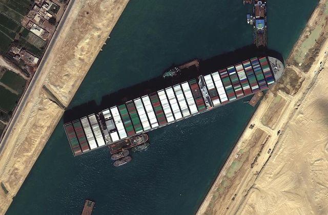 Canal de Suez Ever Given