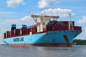 Cargueto de AP Moller Maersk