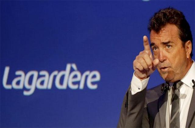 CEO Arnaud Lagardere