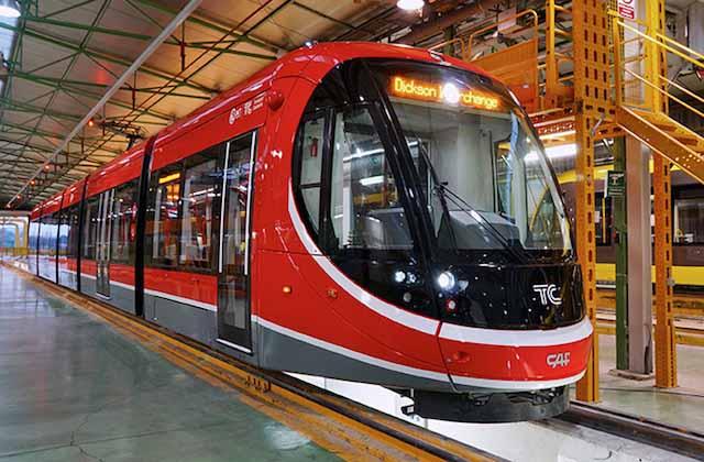 Tren fabricado por CAF
