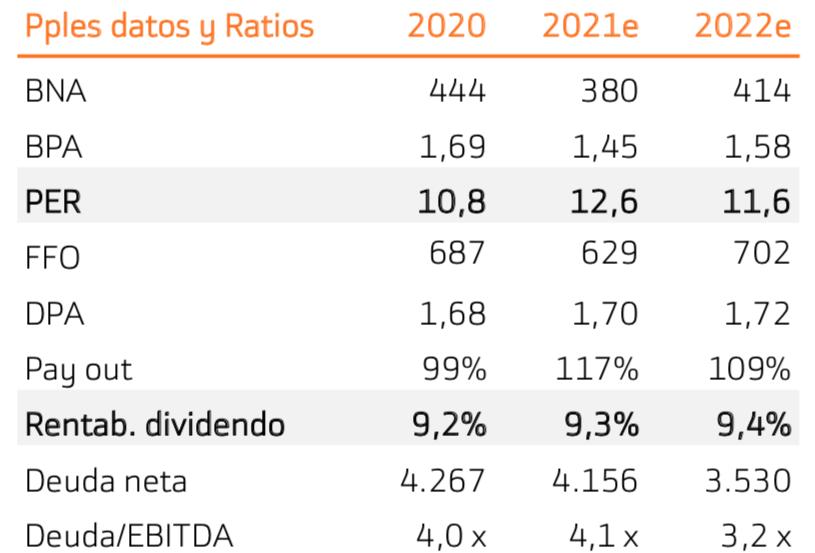 Enagás_ratios
