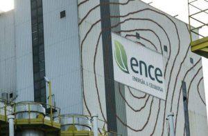 La cotización de Ence se ha visto afectada por declaraciones sobre el futuro de la fábrica de Pontevedra