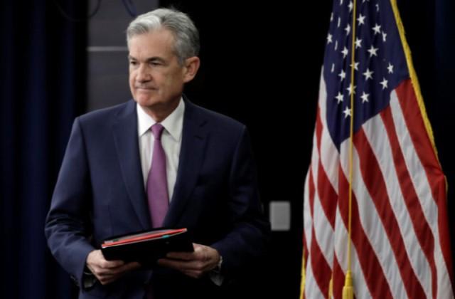Jay Powell, presidente de la Fed