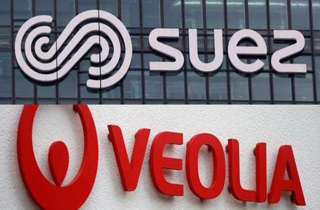 Las acciones de Veolia y Suez subieron ayer con fuerza un +9,66% y un +7,73%, respectivamente