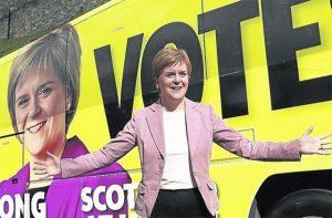 Primera Ministra de Escocia,Nicola Sturgeon