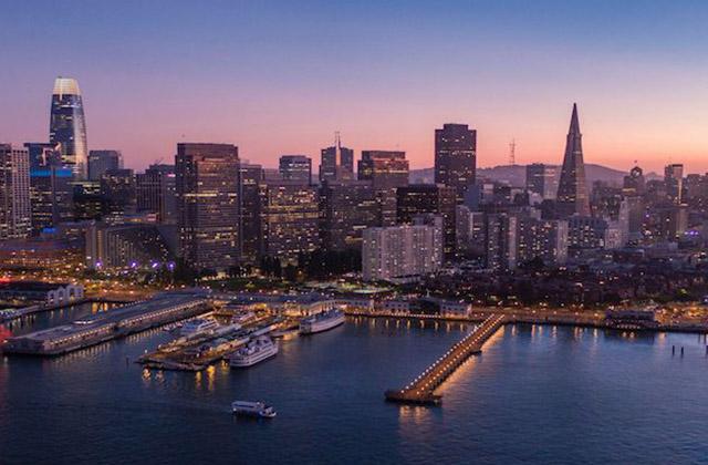 Vista panorámica de Silicon Valley