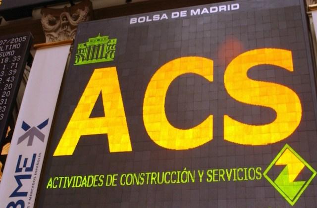 Cotización de ACS