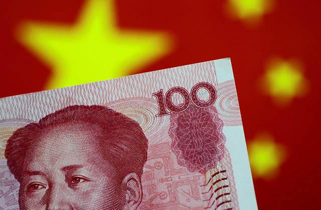 China_billete_bandera