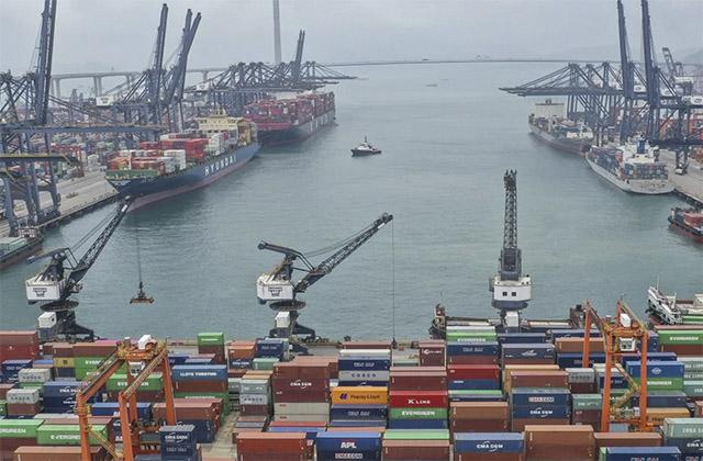 Puerto de Shenzhen (China)